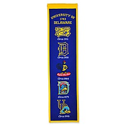 University of Delaware Evolution of Logos Banner