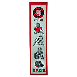 Gonzaga University Evolution of Logos Banner