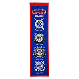 United States Coast Guard Academy Evolution of Logos Banner