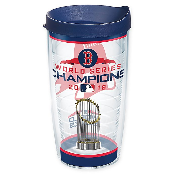 Alternate image 1 for Tervis® MLB Boston Red Sox World Series 2018 Champions 16 oz. Wrap Tumbler with Lid