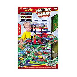 Lucky Toys 47-Piece Parking Lot Play Set