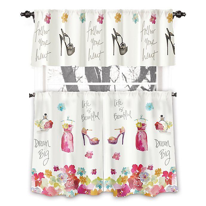 Alternate image 1 for Avanti Dream Big 45-Inch Rod Pocket Window Curtain Panel