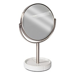 Tile Vanity Mirror in White