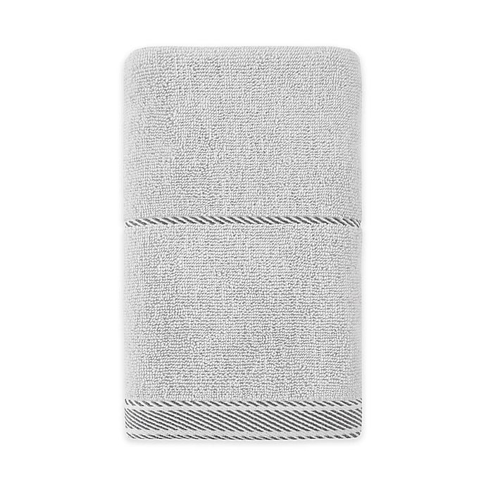 Alternate image 1 for Bee & Willow™ Home Midsomer Striped Hand Towel in Grey