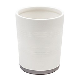 Bee & Willow™ Home Midsomer Wastebasket in White