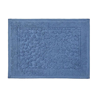 """Bee & Willow™ Home Clearwell 20"""" x 30"""" Bath Rug in Navy"""