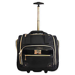 Bebe Evans 15-Inch Underseat Luggage in Black