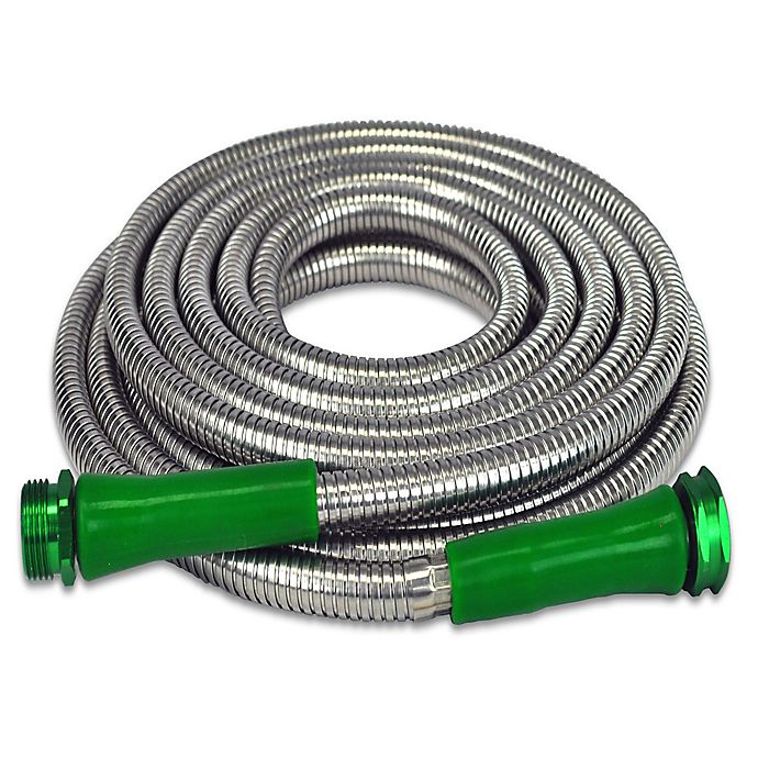 Alternate image 1 for The Metal Garden Hose™ 25' Original Stainless Steel Garden Hose