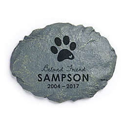 Personalized Dog Memorial Garden Stone