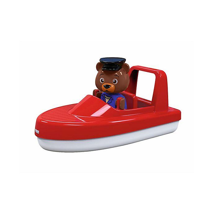 Alternate image 1 for Aquaplay Speedboat with Figurine
