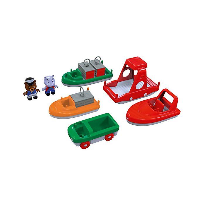 Alternate image 1 for Aquaplay 8-Piece Boat Set
