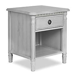 Julienne Nightstand in Antique Grey Mist