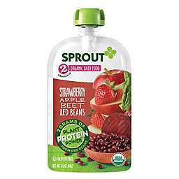 Sprout® Stage 2 Strawberry Apple Beet Red Beans Baby Food