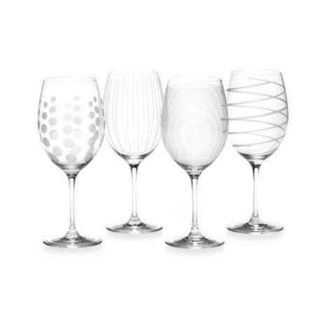 Mikasa Cheers 24 Oz Red Wine Glasses Set Of 4 Bed Bath Beyond