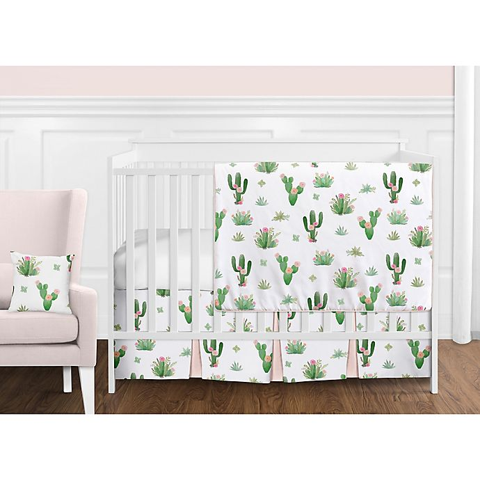 Alternate image 1 for Sweet Jojo Designs Cactus Floral Bedding Collection