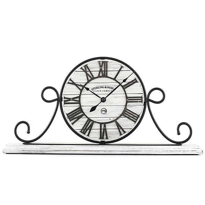 Sterling Le Farmhouse Collection Wrought Iron Mantel