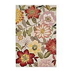 Nourison Fantasy 5' x 7'6  Hand Hooked Area Rug in Ivory