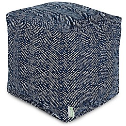 Majestic Home Goods™ South West Square Indoor/Outdoor Pouf