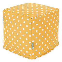 Majestic Home Goods™ Polyester Ikat Dot Ottoman