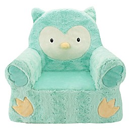 Animal Adventure® Sweet Seats™ Owl Character Chair in Teal