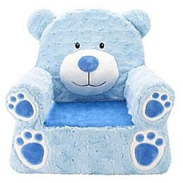 Animal Adventure® Sweet Seats™ Bear Character Chair in Blue