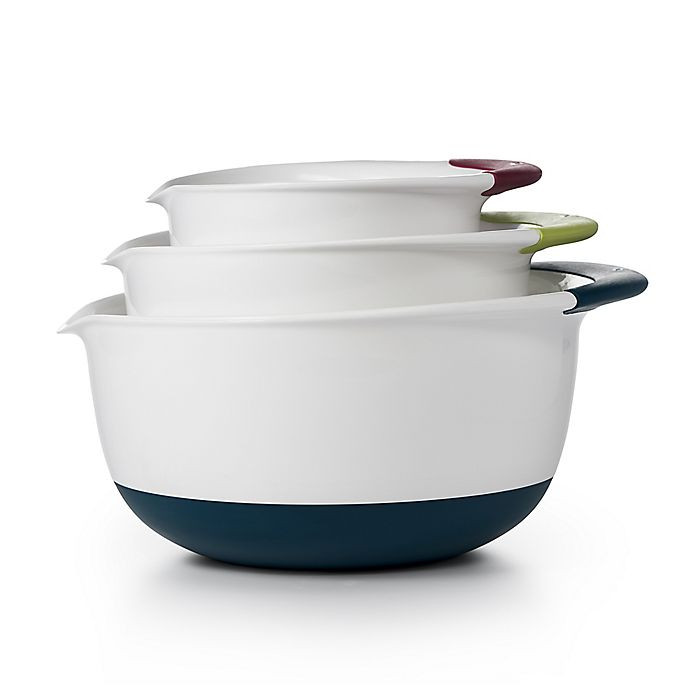 Alternate image 1 for OXO Good Grips® 3-Piece Mixing Bowl Set