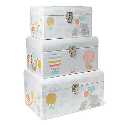 Little Me® Elephant Balloon 3-Piece Nested Box Set