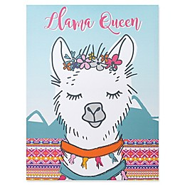Trend Lab® Llama Queen 18-Inch x 24-Inch Framed Canvas