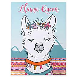Trend Lab® Llama Queen 18-Inch x 24-Inch Framed Canvas