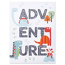 Trend Lab® Dinosaur Adventure 18-Inch x 24-Inch Framed Canvas