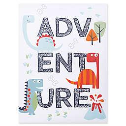 Trend Lab® Dinosaur Adventure 18-Inch x 24-Inch Framed Canvas