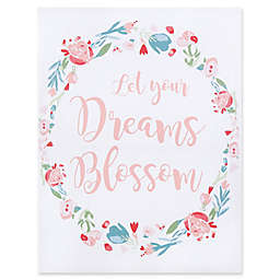 "Trend Lab® ""Let Your Dreams Blossom"" 18-Inch x 24-Inch Framed Canvas"