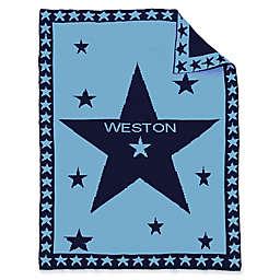 Star Center Baby Blanket