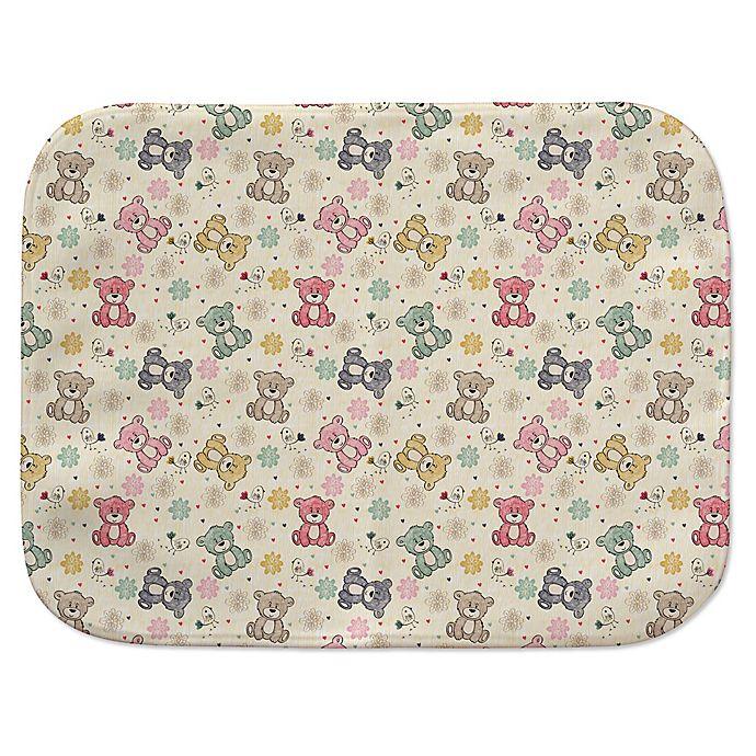 Alternate image 1 for Bears Multicolor Receiving Blanket