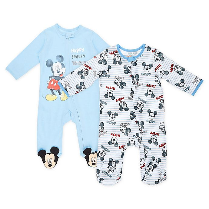 Alternate image 1 for Disney® 2-Pack Mickey Mouse Footies