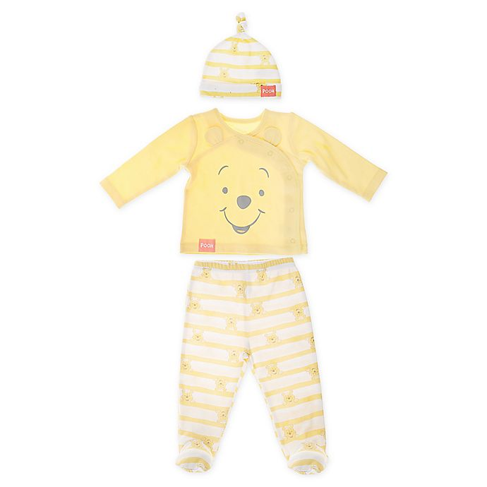 Alternate image 1 for Winnie the Pooh 3-Piece Layette Set