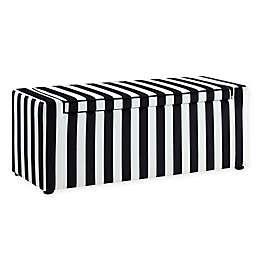 Inspired Home Velvet Don Bench
