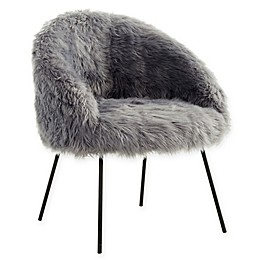 Inspired Home Faux Fur Fred Chair