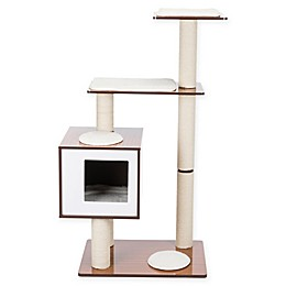 TRIXIE Pet Products Avoca Wooden Cat Tree with Scratching Post