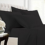 Solid 800-Thread-Count King Sheet Set in Black
