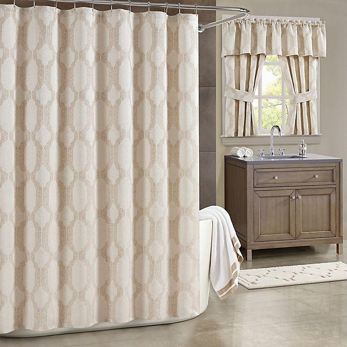 Alternate image 1 for J. Queen New York™ Soho Shower Curtain