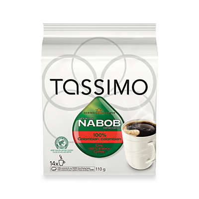 NABOB 14-Count 100% Colombian T DISCS For Tassimo™ Beverage System