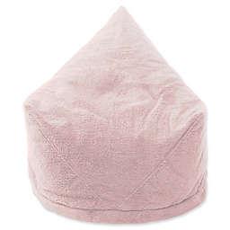 Mimish® Velboa Sherpa Storage Bean Bag Lounger Chair