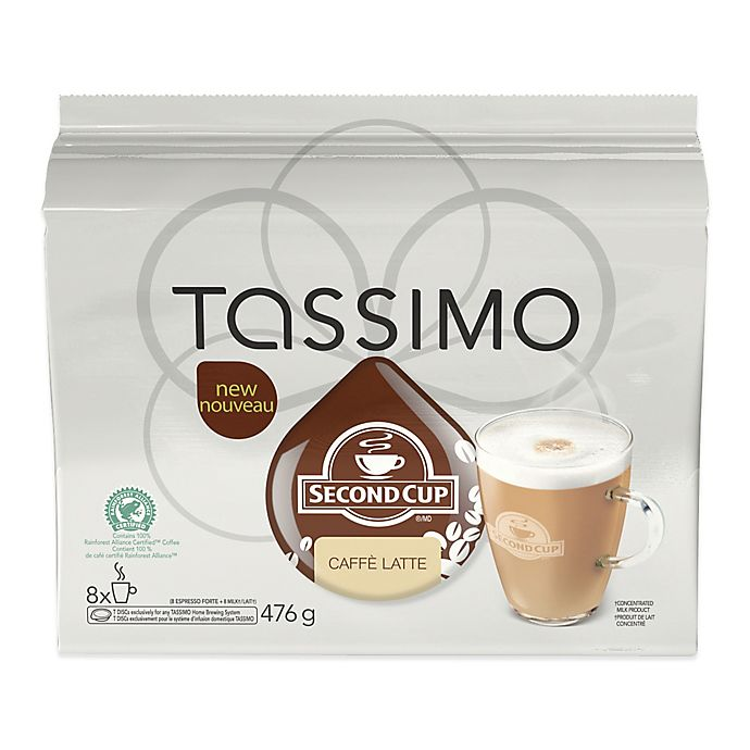 Second Cup® 16-Count Caffe Latte T DISCS For Tassimo