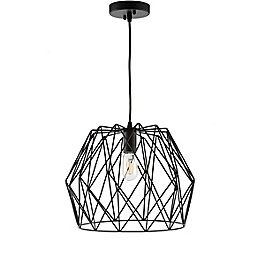 Safavieh Electra LED Pendant Light in Black
