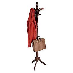 Mind Reader 13-Hook Free Standing Wood Coat Rack
