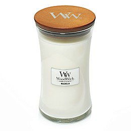WoodWick® Magnolia Large Hourglass Jar Candle