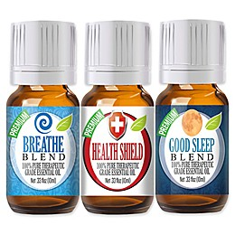 Healing Solutions Soothing Essential Oil Blends (Set of 3)