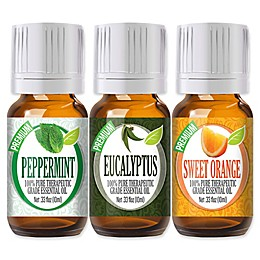 Healing Solutions Best Essential Oils (Set of 3)