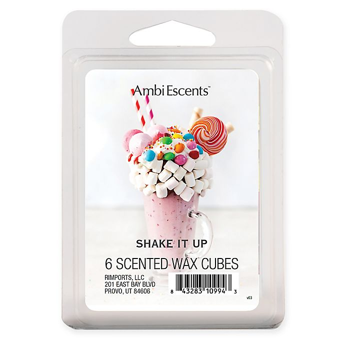 Alternate image 1 for AmbiEscents™ 6-Pack Shake It Up Scented Wax Cubes
